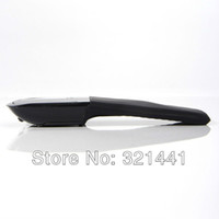 Wholesale Touch Flat Mouse - Wholesale-Wireless Optical Mouse 2.4GHz Arc Touch Mouse Scroll Computer Laptop PC Foldable Flat USB Adaptor Black Unique Look 1:1 Original