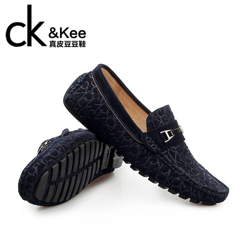 81e039937 Ck &Amp; Kee Male Leather Driving Shoes Men Fashion Shoes Casual Shoes Peas  Korean Version Of The Trend Sets Foot Shoes Canada 2019 From Freea, ...