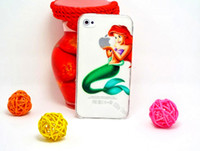 Wholesale Simpsons Iphone Cases - HW002: For Apple iphone 4 4S 4G Transparent Cover For iPhone4S Case Homer Simpsons Simpson Gasp Snow White Cases Shell WSGHH !!