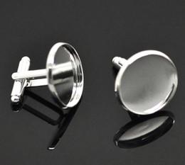links de ajuste Desconto New Trendy 2x10 Banhado A Prata Cuff Ligações 26x22mm (Fit 20mm) Frete Grátis