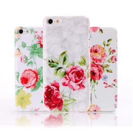Wholesale New Arrival Iphone5c Case - For iphone5C New Arrival Fashion Florals Rose Flower Pattern Plastic Hard Case for apple iphone 5C Mobile phone Protective Cover