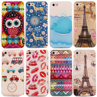 Wholesale Iphone Cute Case China - Min.order is 1pcs Free Shipping China Post. Cartoon Cute Owl TPU Back Cover Case for iPhone 5 5G 5S