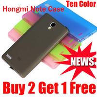 Wholesale Xiaomi Rice - Case for xiaomi hongmi red rice redmi note 5.5 Inch and 4G LTE Smartphone Silicone Protective Case High Quality Free Shipping