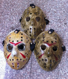 2021 máscara completa de jason Atacado-1pcs / lot Jason Voorhees Máscara Freddy do partido do disfarce da máscara do hóquei máscaras completas para o Halloween