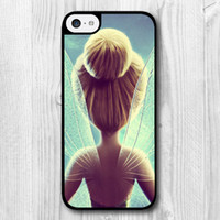 Wholesale Tinkerbell Iphone 5s Case - Lovely Tinkerbell Protective Cover Case For iPhone 5C 5 5S 4 4S 6 Plus T1519
