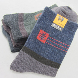 Wholesale Thick Ankle Socks - 5pairs lot,sweat absorbing best sports smartwool socks breathable hiking socks,winter warm thick woolen cotton sport socks hot