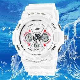 2019 reloj skmei dual Nuevo Skmei electronic G pantalla dual Relojes para hombre de la moda s wiss army + Hombre masculino Digital impermeable Reloj deportivo rebajas reloj skmei dual