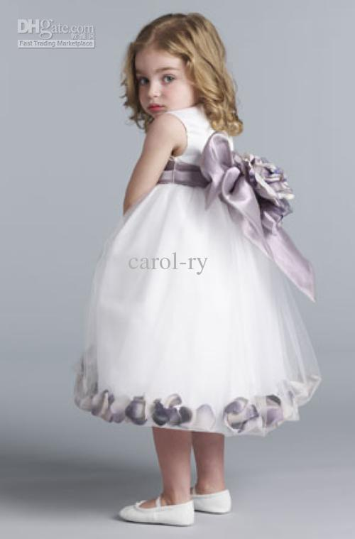 2017 Flower Girls' Dress Baby Angels Birthday Party Sleeveless ...