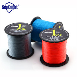 Wholesale Red Braided Fishing Line - 500M SeaKnight Brand Blade Series Good Quality Japan PE Braided Fishing Line Multifilament Fish Line Rope 8 10 20 30 40 60LB