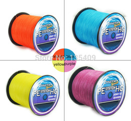 Wholesale Spectra Braided - new 2015 300M 30LB 0.26mm blue 4 strand braided wire fishing line dayneema PE Fishing Line for pesca spectra