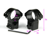 1 paire (2pcs) / M0072 Ring 30mm lot Low Scope Flashlight QD Mount for 11mm Weaver Rail Picatinny