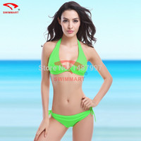 Wholesale Discount Push Up Bikinis - Wholesale-2015 Hot Sale Large Size Swimwears Women's Newest Discount Bikinis Woman Summer Sexy Swimsuit Bath Suit Push Up Bikini Set