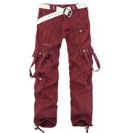 Wholesale Harem Dance - Women's Clothing Fashion Winter Women Baggy Cargo Pants Girls Harem Straight Cargo Trousers For Hip Hop Dance 20A