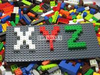 Wholesale Blocks Legoland - Free shipping 1000pcs ABS building blocks sets legoland DIY Bricks toys for children Legocompatible