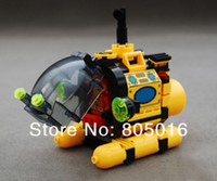 Wholesale Enlighten Submarine - Enlighten Educational building Blocks 1213 DIY Treasure Hunt Submarine 122PCS Assembles Particles Bricks Gift toy