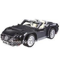 Wholesale Cars Discount Toys - Free shipping KAZI 6888 850pcs discount new Hot large 3D DIY building block sets enlighten brick children toys Ruiqi Sports Car