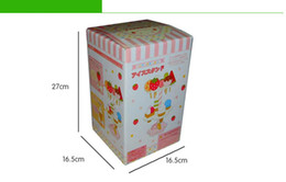 Wholesale Strawberry House Toy - Mother garden wood strawberry ice cream cake children girl's play house toy game child wooden kitchen toys