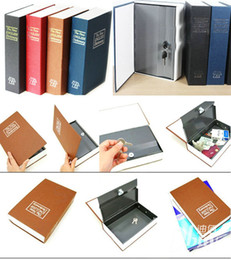 Wholesale Security Dictionary Cash Box - Hot selling new quality and brand Dictionary Book Safe Security Cash Money Box with Locker & Key money saving piggy bank