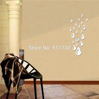 precio de espejos decorativos libre de lluvia cae espejo de pared de la