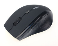 Wholesale New Gaming Mouse - Wholesale-2015 New 2 color 2.4GHz Wireless Optical Gaming Mouse Mice For Computer PC Laptop Cami