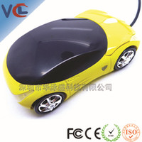 Wholesale Optical Usb Mouse Price - Wholesale-Car Shape 3D USB Optical car shaped Mouse Mice With Wholesale Price free shipping