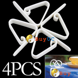 Wholesale Table Skirt Clips Wholesale - 4Pcs New Plastic Table Cover Cloth Desk Skirt Clip Wedding Party Picnic Clamp
