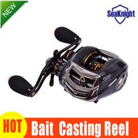 Wholesale Cheap Fishing Reels - SeaKnight TS1200 Baitcasting Reel 14 Ball Bearings Cheap Carp Fishing Wheel Gear For Left Hand Bait Casting Fishing Fish Reel