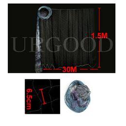 Wholesale Gill Net Monofilament - Wholesale-Free shipping!30M x 1.5M Monofilament 6.5cmx6.5cm Mesh 3 Layer Fishing Gill Net