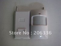 Wholesale Pir Detector Wireless - White Color,433Mhz wireless PIR sensor ,PIR detector for wireless home alarm