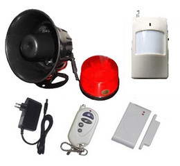 Wholesale Security Alarm Horns - Wireless horn alarm,horn siren,spot alarm system,wireless home siren alarm,433  315 for home security alarm system