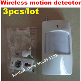 Wholesale Pir Detector Wireless - wireless infrared pir motion sensor detector in 433 mhz, free ship 3pcs lot