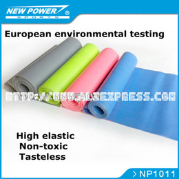 Wholesale Tubing Band Stretching - Tasteless tension Yoga Stretch Fitness Resistance bands tubing workout tubing Tension Brought for Pilates Training free shipping