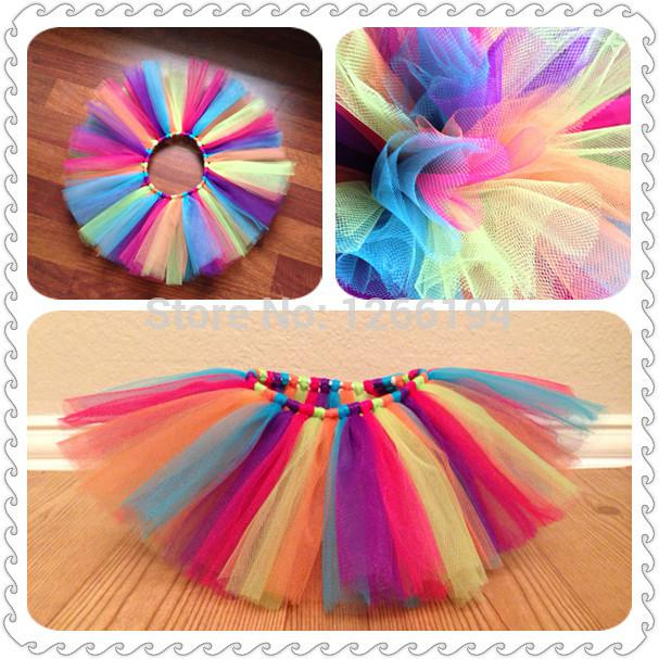 330792c309 ful Handmade Sweet Girl Summer Tulle Toddler Tutu Skirts Rainbow Tutu Kids  Skirts Fluffy 7T 8T 9T From Yanmai, $19.59 | DHgate.Com