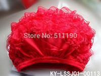 Wholesale Wholesale Diaper Sales - On sale!Toddler Baby Diaper Cover Ruffle Lace Bloomer Petti Bloomer Soft Breathable Full Lace Layer of Both Sides Free Shipping