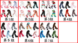 Wholesale Girls Tights Group - 18pcs lot Cute girl Tights childrens Cotton pantyhose baby stocking infant Panty-hose7 group can be choose girl's gift