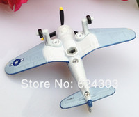Wholesale Planes Pixar Skipper - Free Shipping Pixar Planes 1:55 Scale Skipper Riley Alloy model planes,toy for children Figure in Pack X9461