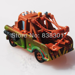 Wholesale Tow Mater Diecast Car - Free Shipping Brand New Pixar Cars 2 Race Team Diecast Metal Toys Tow Mater Truck With Emmagee Alloy Pixar Car Toy
