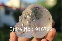 Wholesale Carved Crystal Skulls - free P&P**********Tibetan clear Quartz Rock Crystal Skull Carving