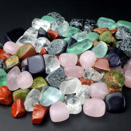 Wholesale Crystal Stones Bulk - 1 2lb (228g) Bulk wholesale Assorted mixed gemstone rock and minerals Tumbled stone beads for crystal Chakra healing #DOI