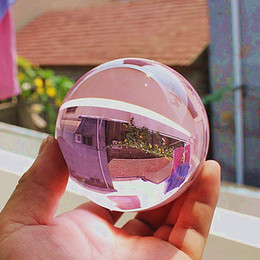 Wholesale Stone Sphere Stands - 2015 Hot 40MM +Stand Natural pink Obsidian Sphere Large Crystal Ball Healing Stone