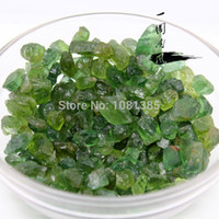 Wholesale Tourmaline Magnets - 100g Natural Green Tourmaline Tumbled Stone Crystal Healing gravel feng shui decoration stone magnet