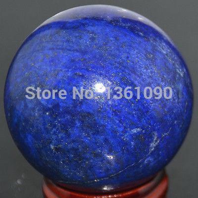 xd j00160 GIGANTIC AFGAN LAPIS LAZULI 51mm GEM STONE CRYSTAL BALL/ CRYSTAL SPHERE