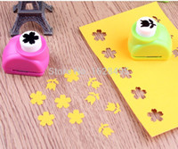 Wholesale Wholesale Paper Cutters - 40 style Kid Child Mini Printing Paper Hand Shaper Scrapbook Tags Cards Craft DIY Punch Cutter Tool