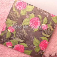 Wholesale Scrapbook Paper Baby - free ship12inch DIY flower PHOTO ALBUM Scrapbook Paper Crafts baby picture photograph holder include40sheet inner card