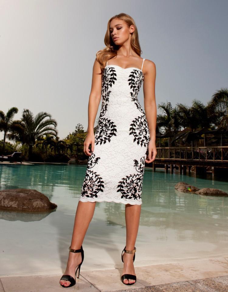 R70092 Women Dress Strapless Sleeveless Sexy Plus Size Dress White ...