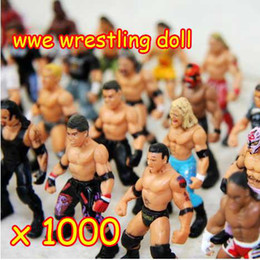 Wholesale Large Plastic Dolls Wholesale - 1000pcs lot a large brand Action Figure toys,wrestling doll dolls Many Different Style