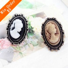 Wholesale Image Rings - 2015 New Fashion Court Beauty Image Restoring Ancient Ways Ring 66R226 66R227