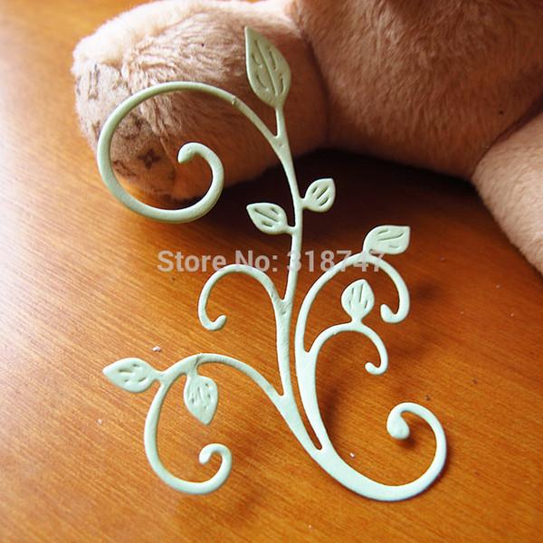 DIY álbum de fotos hecho a mano decoración accesorio libro de recuerdos flor hecha a mano tarjeta de papel (1pcs / lot) 048012057
