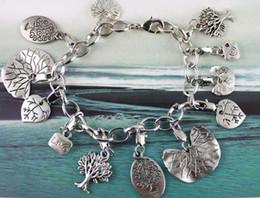 Wholesale tibetan silver chain bracelets - 5PCS Tibetan silver TREE OF LIFE Chain bracelet #20120