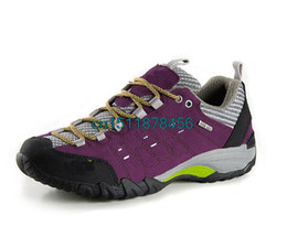 Wholesale Trekking Shoes For Women - Top Qualtiy 2015 Women Genuine Leather Slip On Hiking Shoes Casual Outdoor Climbing Breathable Trekking Camping Shoes For Ladies